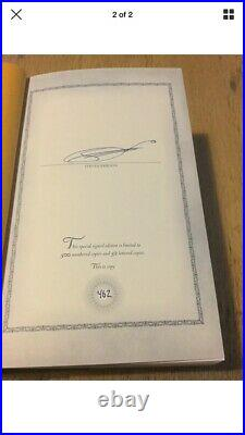 Malazan Book Of The Fallen 6-7 Signed Subterranean Press Steven Erikson