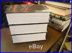Malazan Book of the Fallen 6-10 Signed Subterranean Press by Steven Erikson 1st