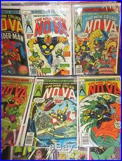 Marvel Comics Man Called Nova Issues 1 25 complete Run Old Vintage Comic Books