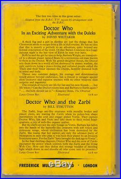 Mega-rare 1st edn of Doctor Who and the Crusaders Muller, 1965. NOT ex-lib