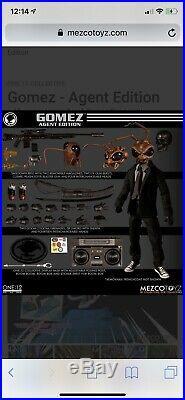 Mezco One12 Agent Gomez Edition plus Gomez Issue Zero Comic Book new preorder