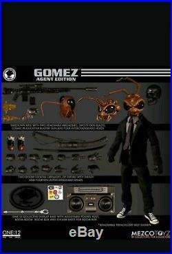 Mezco One12 Gomez Agent Edition plus Gomez Issue Zero Comic Book new preorder