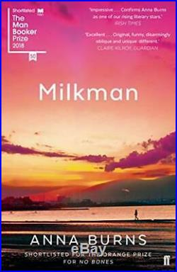 Milkman Winner of the Man Booker Prize 2018 by Anna Burns Book The Cheap Fast