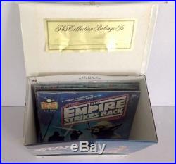 Mint Vintage Star Wars Record T0te & 5 Sealed Star Wars Record & Book Set