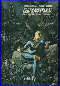 Miracleman Book 3 Olympus Hardcover Dust Jacket Rare HC DJ HB Eclipse Alan Moore