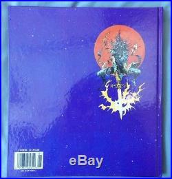 Moebius Chaos Hc Art Book Jean Giraud Vintage Sci-fi Fantasy Heavy Metal 1991