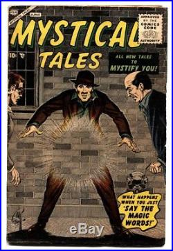 Mystical Tales #1-comic book 1956-rare first ssue-atlas horror-Bill Everett
