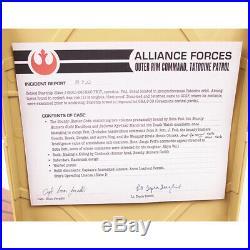 NEW The Bounty Hunter Code From Files of Boba Fett BOOK CASE Disney Star Wars