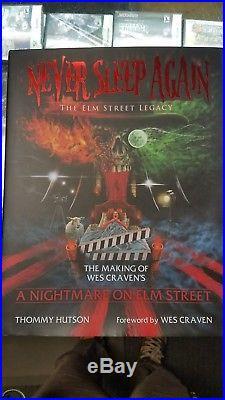 Never Sleep Again Coffee Table Book. Elm Street. Freddy Krueger #535