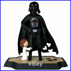 New STAR WARS -Gentle Giant Darth Vader and Princess Leia DX Macket and Book