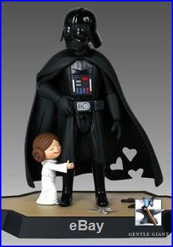 New STAR WARS Gentle Giant Darth Vader and Princess Leia DX Macket and Book Jedi