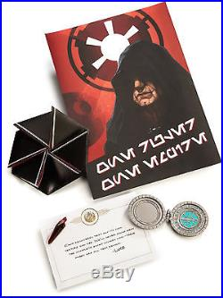 New Star Wars Book of Sith Secrets From The Dark Side Vault Edition Sealed Box
