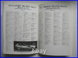 Night Moves rally book