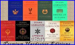 OUTLANDER Series by Diana Gabaldon HARDCOVER Collection Set of Books 1-9