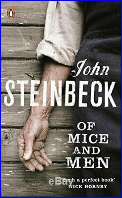 Of Mice and Men (Penguin Red Classics) by Steinbeck, Mr John Paperback Book The