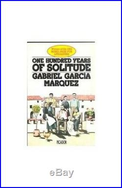 One Hundred Years Of Solitude Picador Book. By Garcia Marquez, Gabr Paperback