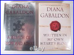 Outlander 8 book Complete Hardcover Set 1-8 Diana Gabaldon Scifi HCDJ