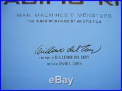PACIFIC RIM Sci-Fi Film Art Book SIGNED by Writer / Director GUILLERMO DEL TORO