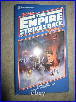 PB Star Wars books, Once Upon A Galaxy & The Empire Strikes Back, 1980 1st eds