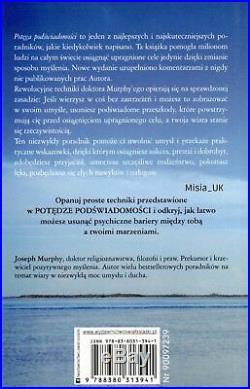 POTEGA PODSWIADOMOSCI/POTGA PODWIADOMOCI Joseph Murphy, OPRAWA MIEKKA