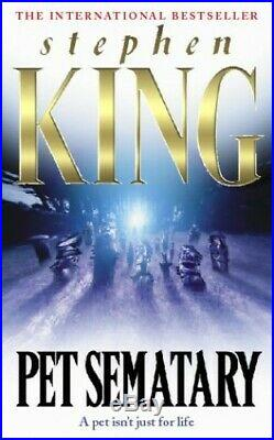 Pet Sematary by King, Stephen Hardback Book The Cheap Fast Free Post