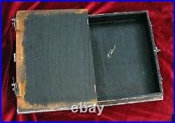 Pirata Codex- wooden hideaway book box. Pirates of the Caribbean replica box