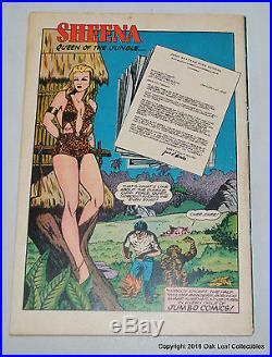 Planet 43 Fiction House Comic Book 1946 High Grade! F-VF