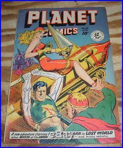 Planet Comics #58 comic book very fine 8.0