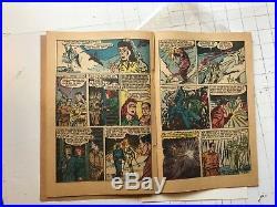 Pre-code horror terror the Purple Claw (Minoan) #2 1953 rare comic book golden