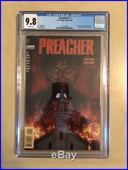 Preacher 1! Cgc 9.8! Great Tv Series! Great Book
