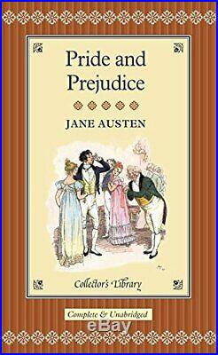 Pride and Prejudice (Collector's Library) by Jane Austen Hardback Book The Cheap