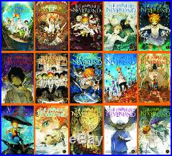 Promised Neverland English MANGA Series Set Books Vol. 1-16 by Kaiu Shirai NEW