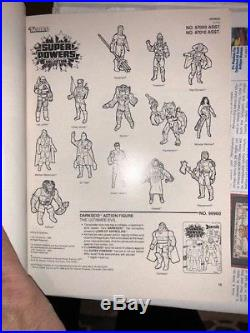 RARE 1986 Kenner Repro Art Book Star Wars Ewoks Droids Super Powers M. A. S. K EX+