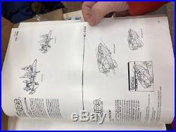 RARE 1986 Kenner Repro Art Book Star Wars Ewoks Droids Super Powers M. A. S. K NM