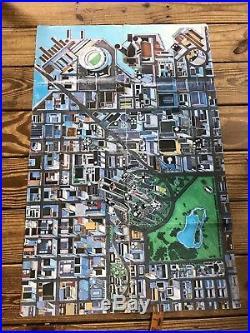 RARE NIGHTCITY CYBERPUNK 2020 MANUAL BOOK With MAP, R. Talsorian Games