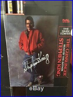 RARE! Stephen King The Gunslinger SIGNED (UNNUMBERED!) PROMO Audio Book NAL