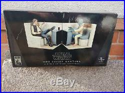 Rare. Limited Edition Star Wars Mos Eisley Cantina Book Ends by Gentle Giant