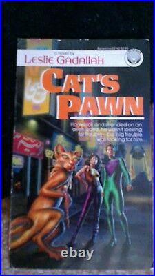 Rare book cover illustration sci fi, fantasy artist Barclay Shaw well listed