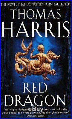 Red Dragon (Hannibal Lecter) by Harris, Thomas Paperback Book The Cheap Fast