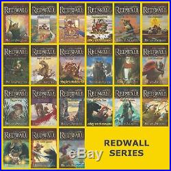 Redwall Series Set Vols. 1-22 Books by Brian Jacques FULL SIZE PAPERBACK NEW