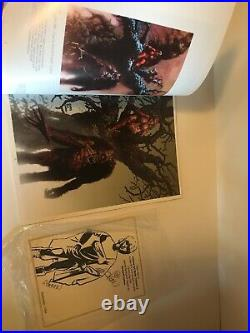 Richard Corbens Art Book Volume Two Softcover Signed Card