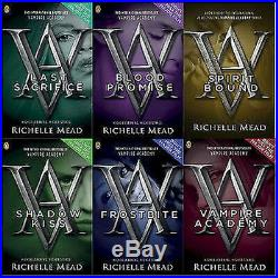 Richelle Mead Vampire Academy Horror & Ghost Stories Set 6 Books Puffin PB NEW