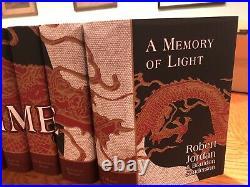 Robert jordan wheel of time hardcover Collection 15 Juniper Books Set