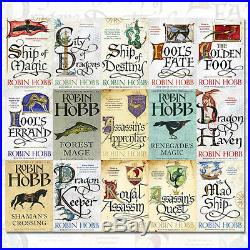 Robin Hobb 15 Books 5 Series Collection Set (Fools Errand, The Golden Fool), UK