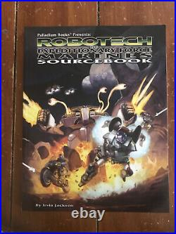 Robotech RPG EXPEDITIONARY FORCE MARINES (Palladium Books) Near Mint