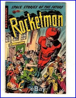 Rocketman Vol. 1 # 1 VG/FN Farrell Comic Book Golden Age 1952 Space Sci-Fi JL16