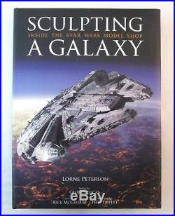 SCULPTING A GALAXY Inside Star Wars Model Shop HC Book Limited Signed Edition