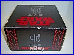 SEALED Star Wars Book of the Sith Secrets from the Dark Side with Holocron case