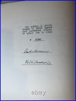 SIGNED 1991 Star Wars ARCHIE GOODWIN, AL WILLIAMSON 3 Vol Set Some Damage On Cas