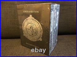 SIGNED Borders Ltd Ed Boxed 3 Book Set Philip Pullman His Dark Materials Trilogy